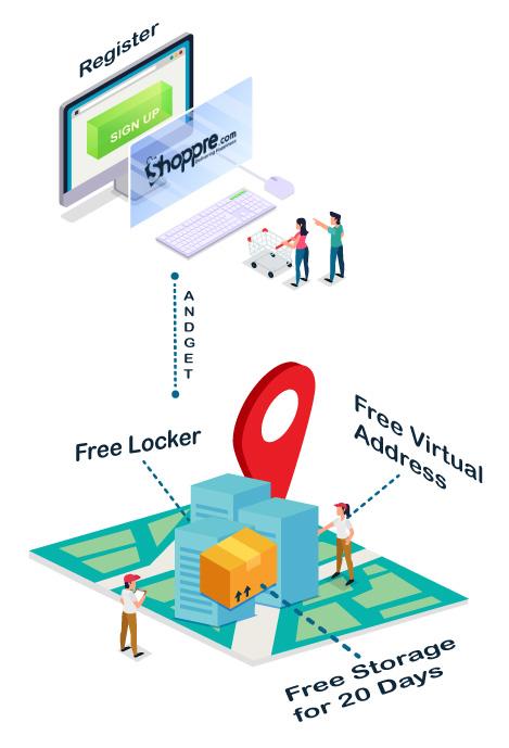 get a free virtual address
