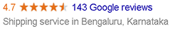 google rating cheap international shipping from india