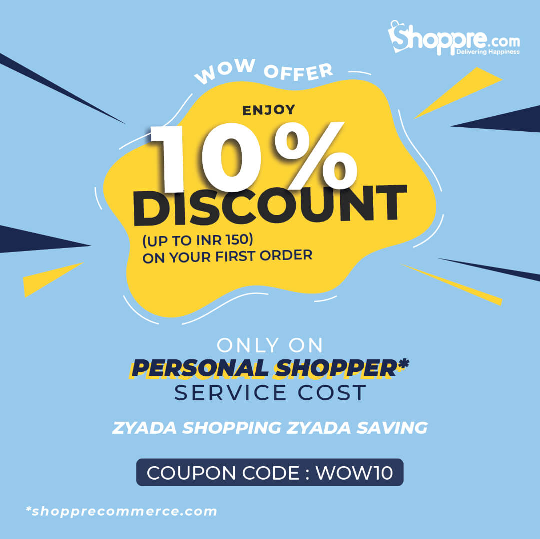first order for personal shopper