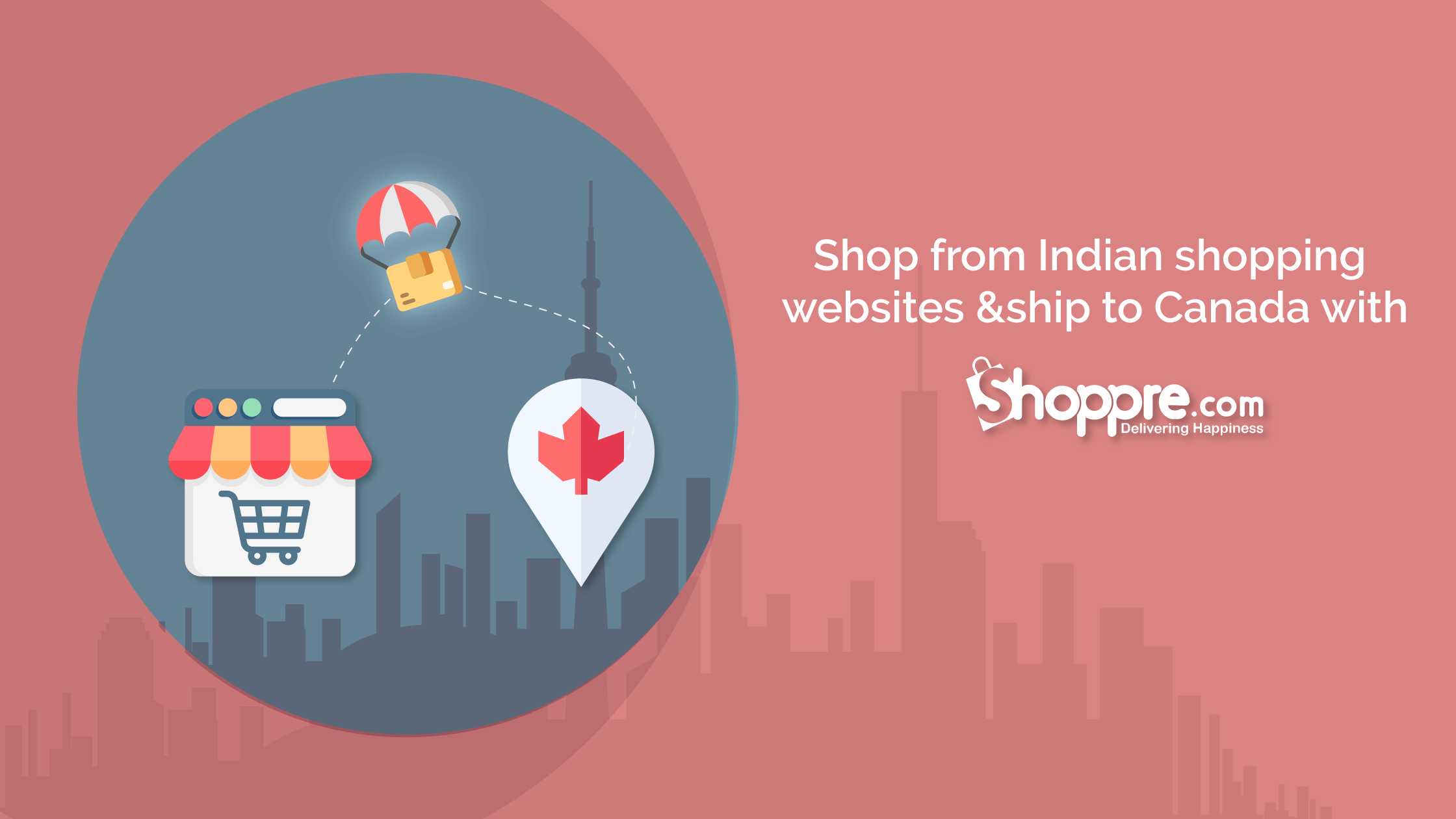 Online Shopping Canada from India