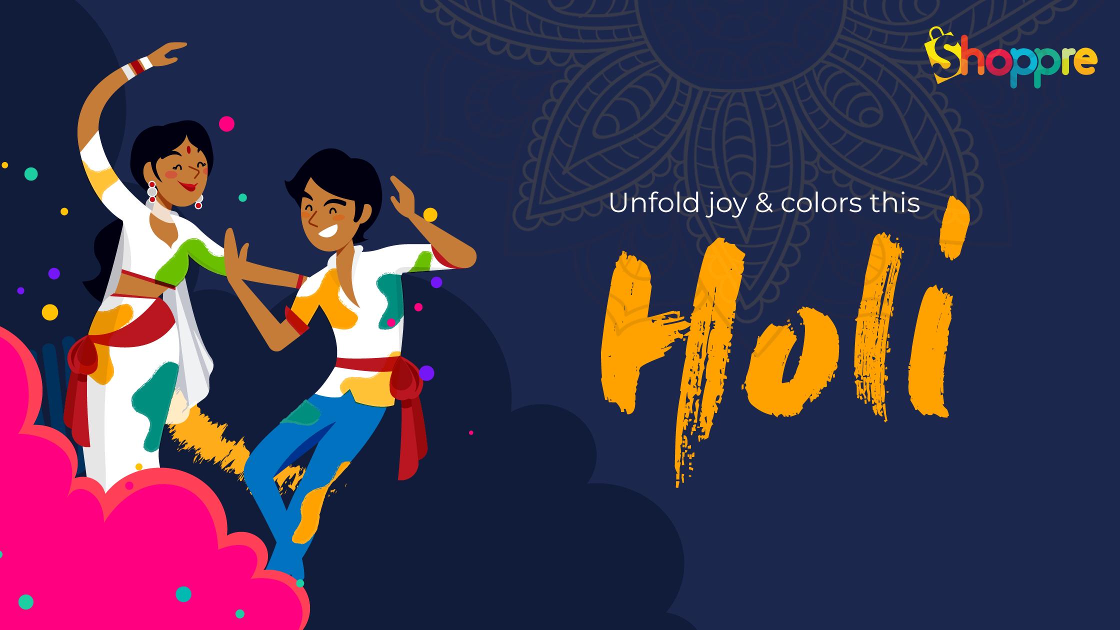 holi india celebration
